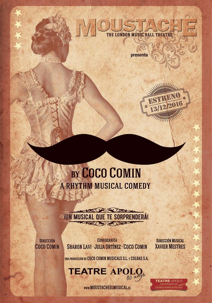 Moustache, The Rhythm Musical