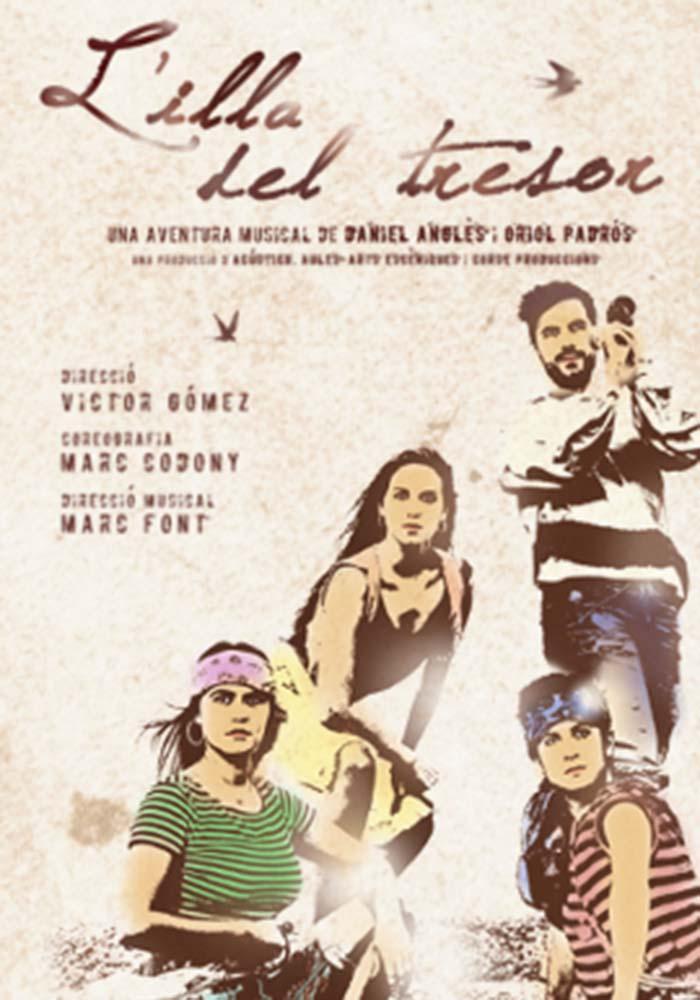 L'illa del Tresor, el musical