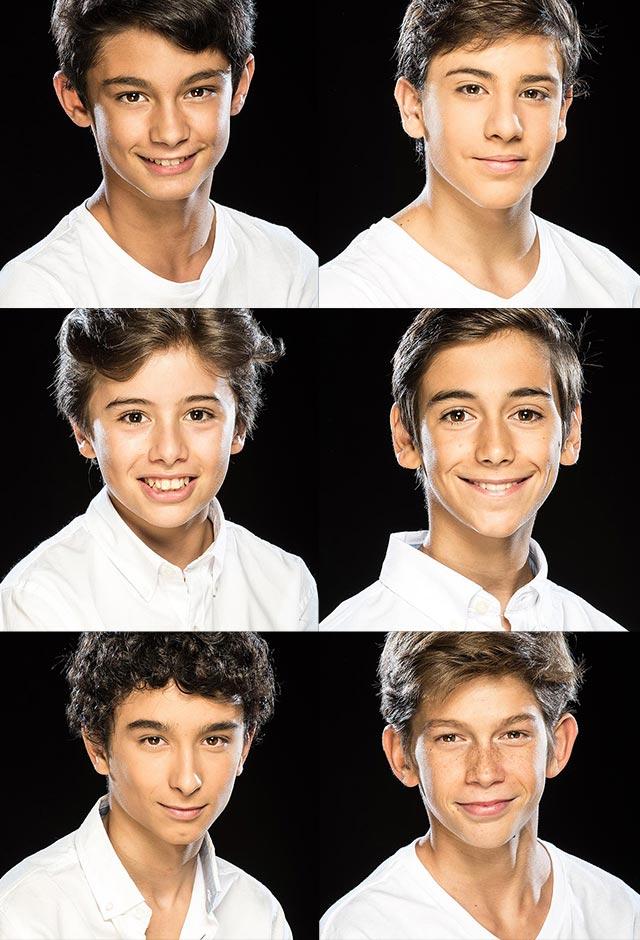 Cristian López / Diego Rey /  Miguel Millán / Oscar Pérez / Pablo Bravo / Pau Gimeno